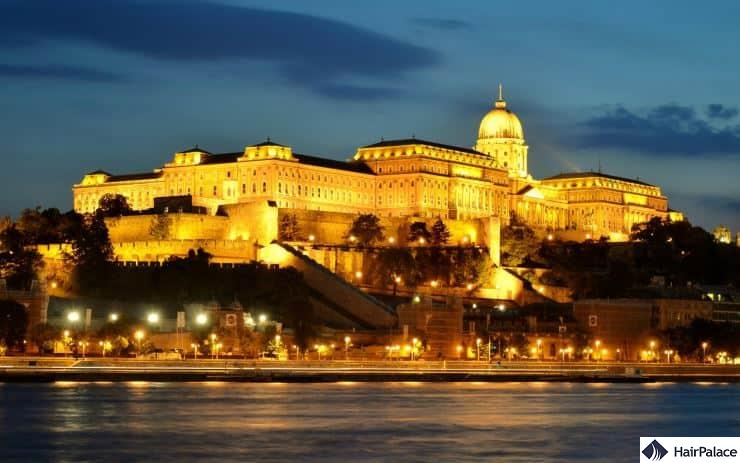 buda castle and castle hill