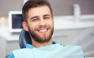 man-dental-chair