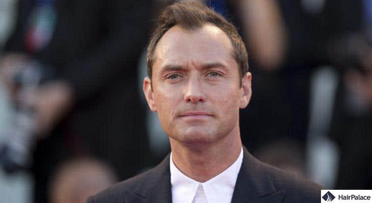 Jude Law hair transplant rumours