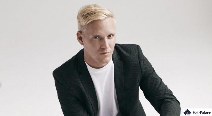 Jamie Laing's dense hair after his hair transformation