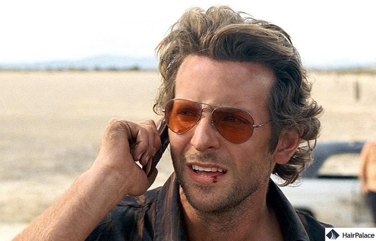 Bradley Cooper's mature hairline