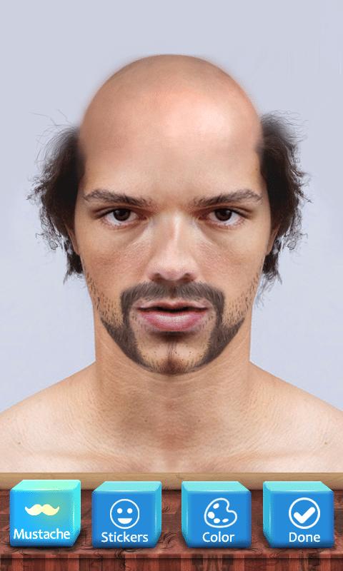Bald Face app face detection technology
