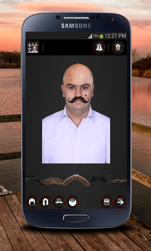 Face/Facial Hair Changer for Men and Women app
