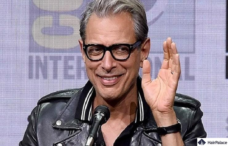 Jeff Goldblum's mature hairline