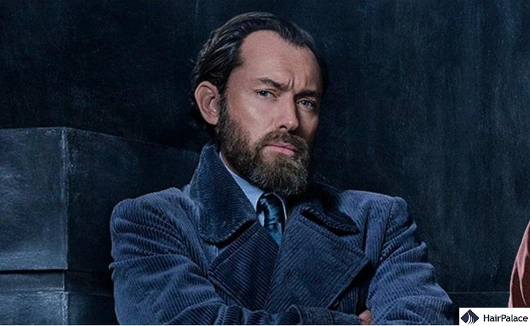 Jude Law's hairline in Fantastic Beasts movie