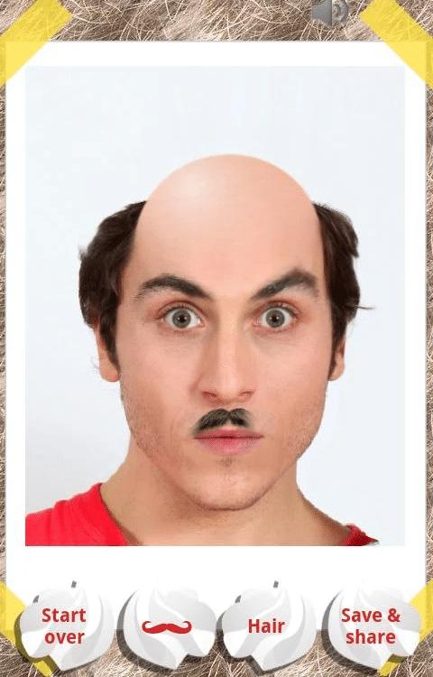 The Make Me Bald application