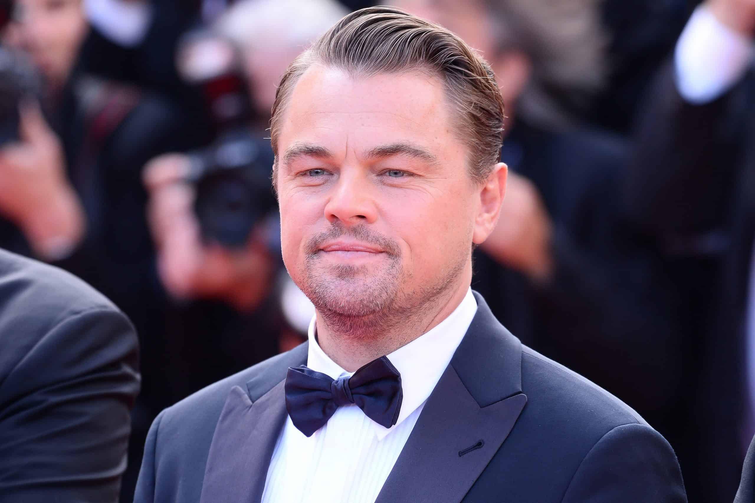 Leoonardo DiCaprio mature hairline