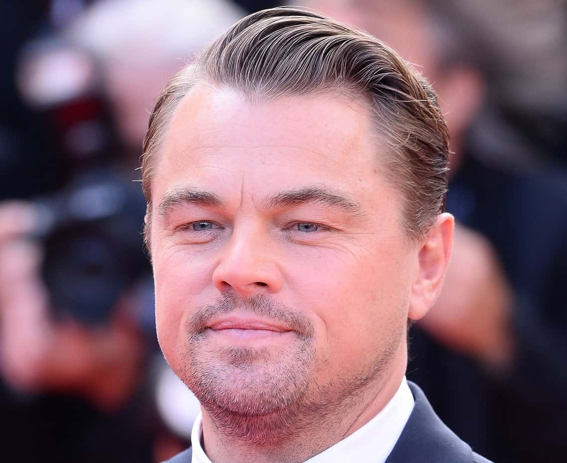 Mature hairline Leonardo DiCaprio
