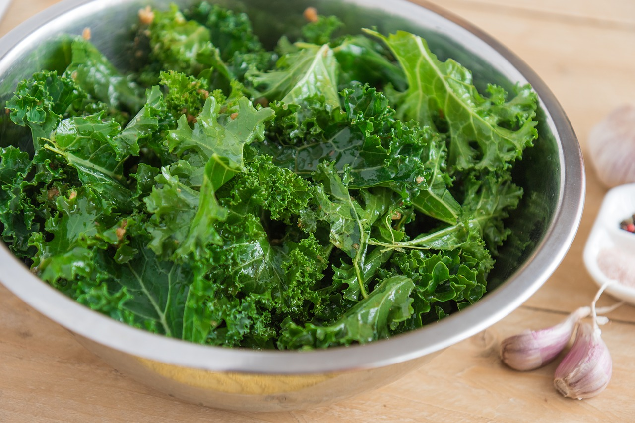 kale effective vegetable to prevent hair loss and to block DHT