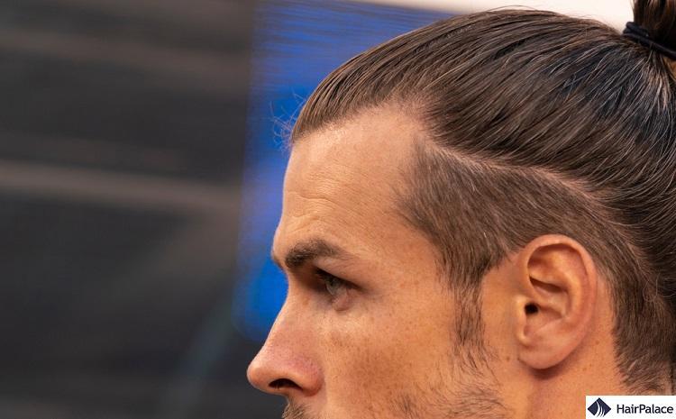 Gareth Bale's dense hair