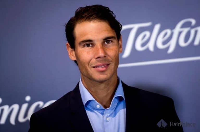 Rafael Nadal new hair style